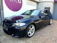 USED 2012 62 BMW 5 SERIES 2.0 520D M SPORT TOURING 5d AUTO 181 BHP