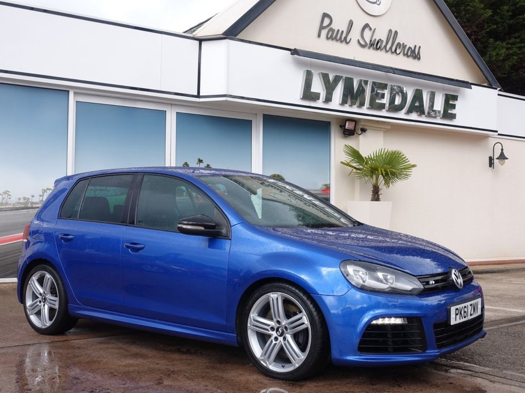 USED 2011 61 VOLKSWAGEN GOLF 2.0 R 5d 270 BHP