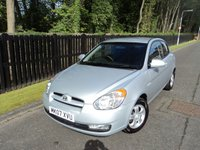 2007 HYUNDAI ACCENT 1.4 ATLANTIC LIMITED EDITION 3d AUTO 96 BHP £2988.00