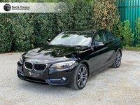 USED 2016 16 BMW 2 SERIES 2.0 218D SPORT 2d AUTO 148 BHP