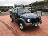 USED 2004 54 JEEP CHEROKEE 2.5 SPORT CRD 5d 141 BHP