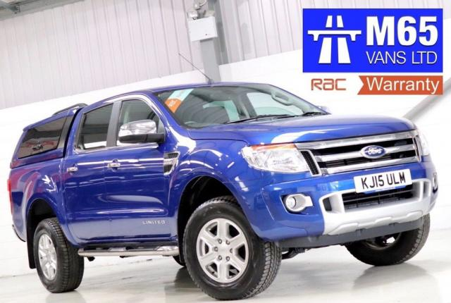 2015 15 FORD RANGER 2.2 TDCi Limited Double Cab Pickup 4x4 4dr (EU5)