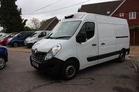 2015 RENAULT MASTER 2.3 MM35 BUSINESS DCI S/R P/V 125 BHP Cooler van/Refridgerated/240v Hook Up £12995.00