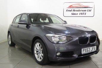 2013 BMW 1 SERIES 1.6 116I SE 5d AUTO 135 BHP £10490.00