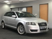 USED 2007 57 AUDI A3 1.9 TDI SE 5d 103 BHP++++EXCELLENT MPG++++