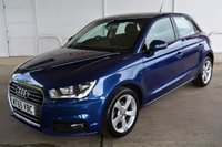 USED 2015 65 AUDI A1 1.0TFSi SPORTBACK SPORT 5 DOOR 95 BHP Finance? No deposit required and decision in minutes.