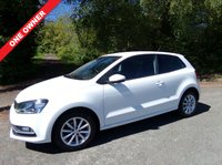 USED 2016 16 VOLKSWAGEN POLO 1.0 MATCH 3d 60 BHP ONE OWNER FROM NEW  TWO REMOTE KEYS MOT 2020 SERVICE HISTORY PRINT OUT NEW SPARE WHEEL AUX/USB SOCKETS FRONT /REAR PARKING SENSORS FLOOR MATS DAY RUNNING LIGHTS