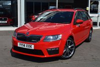USED 2014 14 SKODA OCTAVIA 2.0 VRS TDI CR 5d 181 BHP FINANCE TODAY WITH NO DEPOSIT