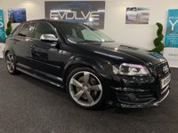USED 2011 60 AUDI A3 2.0 S3 SPORTBACK TFSI QUATTRO BLACK EDITION 5d 261 BHP FULL SERVICE HISTORY WITH BELT