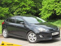 USED 2014 64 FORD FOCUS 1.0 TITANIUM NAVIGATOR 5d 124 BHP SATELLITE NAVIGATION, REAR PARKING SENSORS