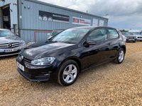 2015 VOLKSWAGEN GOLF 1.6 MATCH TDI BLUEMOTION TECHNOLOGY 3d 103 BHP £8790.00