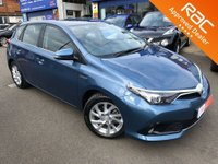 2016 TOYOTA AURIS 1.8 VVT-I BUSINESS EDITION 5d AUTO 99 BHP
