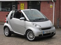 2008 SMART FORTWO CABRIO 1.0 PASSION AUTOMATIC 2dr £2990.00