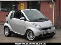 USED 2008 58 SMART FORTWO CABRIO 1.0 PASSION AUTOMATIC 2dr GREAT SPECIFICATION AUTOMATIC CONVERTIBLE