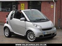 2008 SMART FORTWO CABRIO 1.0 PASSION AUTOMATIC 2dr £3490.00
