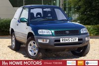 USED 1998 R TOYOTA RAV4 2.0 GX 3d 126 BHP GREAT CAR SERVICE HISTORY 8 x STAMPS GREAT CONDITION