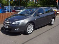 2011 VAUXHALL ASTRA 1.6 EXCLUSIV 5dr, Full Dealer Service History
