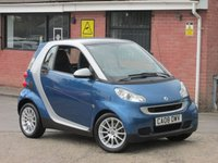 2008 SMART FORTWO 1.0 PASSION AUTO (ONE OWNER) 2dr £2490.00