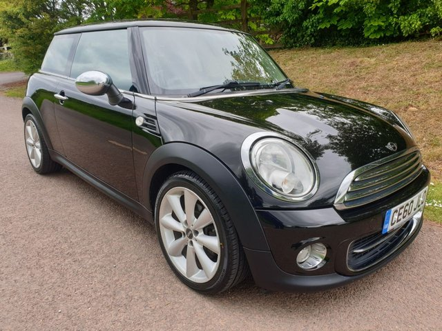 USED 2010 60 MINI HATCH COOPER 1.6 COOPER 3d 122 BHP **1 OWNER**LOVELY CONDITION**LONG MOT**