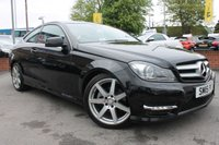 USED 2015 15 MERCEDES-BENZ C CLASS 2.1 C250 CDI AMG SPORT EDITION PREMIUM 2d AUTO 202 BHP AMAZING SPECIFICATION - HALF LEATHER INTERIOR - SAT NAV - BLUETOOTH - MUST BE SEEN