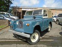 USED 1963 LAND ROVER 88 SERIES 2 PETROL  SERIES 2 DEFENDER