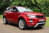 2015 LAND ROVER RANGE ROVER EVOQUE 2.2 SD4 DYNAMIC 5d AUTO 190 BHP £20000.00