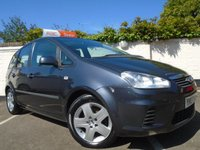 2007 FORD C-MAX 1.6 STYLE 5d 100 BHP £2699.00
