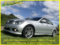 USED 2007 57 MERCEDES-BENZ C CLASS 2.1 C220 CDI SPORT 4d 168 BHP +82K+AMAZING SPECIFICATION+