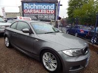 USED 2010 10 BMW 1 SERIES 2.0 118D M SPORT 2d 141 BHP 1/2 LEATHER  INTERIOR, ALLOYS, FULL SERVICE HISTORY