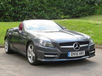 USED 2015 15 MERCEDES-BENZ SLK 2.1 SLK250 CDI BLUEEFFICIENCY AMG SPORT 2d AUTO 204 BHP SAT NAV, HEATED LEATHER & MORE