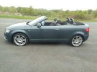 USED 2008 58 AUDI A3 1.9 TDI S LINE 2d 103 BHP CONVERTIBLE LOW MILES HALF LEATHER