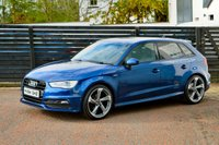 USED 2015 64 AUDI A3 2.0 TDI S LINE 5d SPORTBACK  6 MONTHS RAC WARRANTY FREE + 12 MONTHS ROAD SIDE RECOVERY!