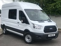 USED 2016 16 FORD TRANSIT 350 RWD 2.2 125 BHP L3H3 DCB 7 SEATER**OVER 85 VANS IN STOCK**