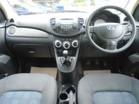 USED 2009 58 HYUNDAI I10 1.2 COMFORT 5d 77 BHP GUARANTEED TO BEAT ANY 'WE BUY ANY CAR' VALUATION ON YOUR PART EXCHANGE