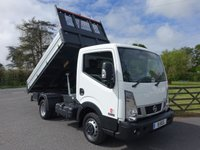 USED 2019 19 NISSAN CABSTAR NT 300 35.13 SWB TIPPER  30 DCI 130 BHP Good Saving On This Pre Registered Cabstar Tipper! Balance Of 5 Year 100000 Mile Warranty! In Stock Now With Same Day Availability!