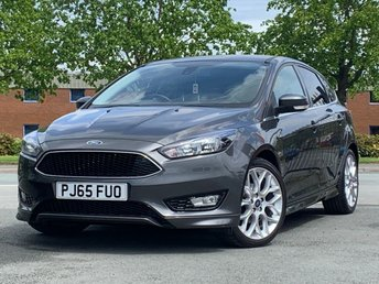 2015 FORD FOCUS 1.0 ZETEC S 5d 124 BHP lovely example  buy today pay later £9995.00