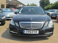 USED 2011 11 MERCEDES-BENZ E CLASS 2.1 E220 CDI BLUEEFFICIENCY SE 5d AUTO 170 BHP FULL SERVICE HISTORY ( INC INVOICES ) - SEE IMAGES