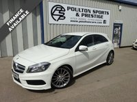 USED 2013 63 MERCEDES-BENZ A CLASS 1.8 A180 CDI BLUEEFFICIENCY AMG DIESEL SPORT AUTO