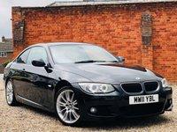 USED 2011 11 BMW 3 SERIES 320D M SPORT PRO NAV & LEATHER
