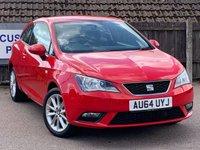 USED 2014 64 SEAT IBIZA 1.4 TOCA 3d 85 BHP