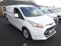 USED 2015 65 FORD TRANSIT CONNECT 240 L2 LWB LIMITED 1.6TDCI 115 BHP Direct From Leasing Company With Low Mileage! Top Of Range With Air Con Alloys Etc First Class Example!