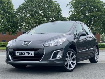 2013 PEUGEOT 308 1.6 E-HDI ACTIVE NAVIGATION VERSION 5d 115 BHP £5295.00
