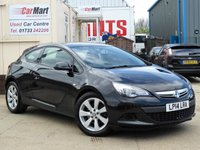 USED 2014 14 VAUXHALL ASTRA 1.4 GTC SPORT S/S 3d 118 BHP 1 OWNER | FULL SERVICE HISTORY