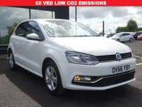 USED 2016 66 VOLKSWAGEN POLO 1.2 TSI BlueMotion Tech Match (s/s) 5dr MOT, WARRANTY AND SERVICE INCLUDED