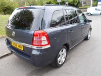 USED 2008 58 VAUXHALL ZAFIRA 1.6 EXCLUSIV 5d 105 BHP ++LOW MILEAGE CAR COMES WITH A FREE 12 MONTHS AA BREAKDOWN COVER++