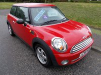 USED 2008 58 MINI ONE 1.4 ONE 3d 95 BHP ++LOW MILEAGE MINI++