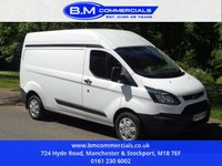 USED 2014 63 FORD TRANSIT CUSTOM 2.2 330 LR P/V 1d 124 BHP LWB HIGH ROOF MORE CUSTOMS IN STOCK