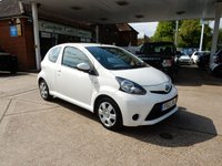 USED 2012 12 TOYOTA AYGO 1.0 VVT-I ICE 3d 68 BHP AIR CON,SERVICE HISTORY,RECENT NEW CLUTCH,REMOTE LOCKING