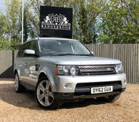 USED 2012 62 LAND ROVER RANGE ROVER SPORT 3.0 SDV6 HSE LUXURY 5dr AUTO  1 Year Parts & Labour Warranty