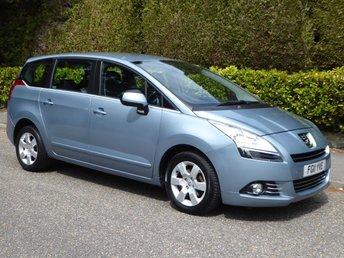 2011 PEUGEOT 5008 1.6 HDI SPORT 5d AUTO 112 BHP £5995.00